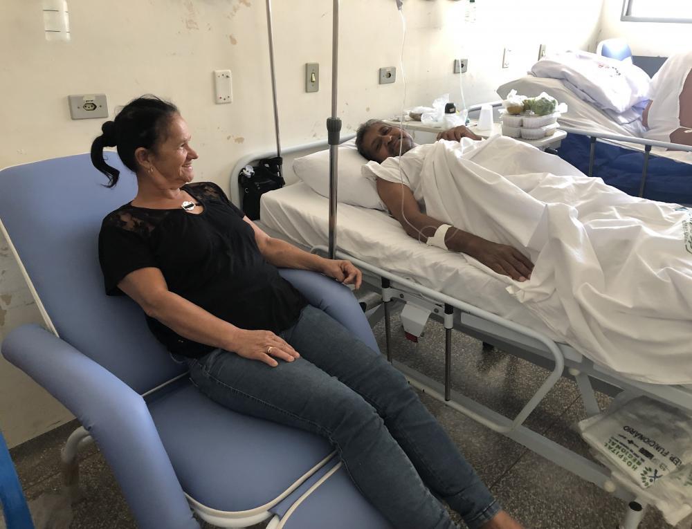 Hospital Regional de Ponta Porã (MS) investe em poltronas reclináveis para acompanhantes e pacientes