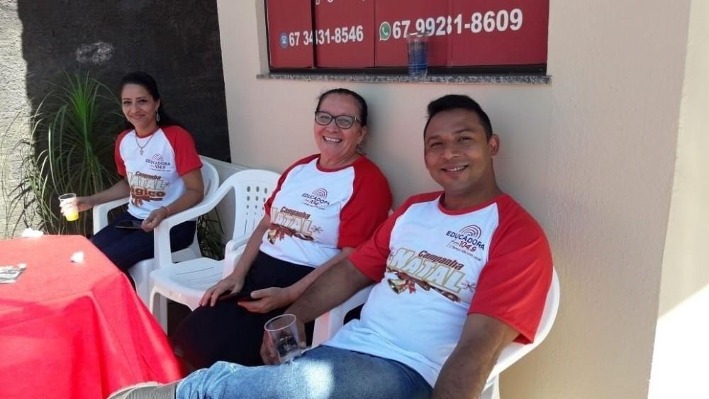 Rádio Educadora FM, lança campanha Natal Mágico na região norte de Ponta Porã.