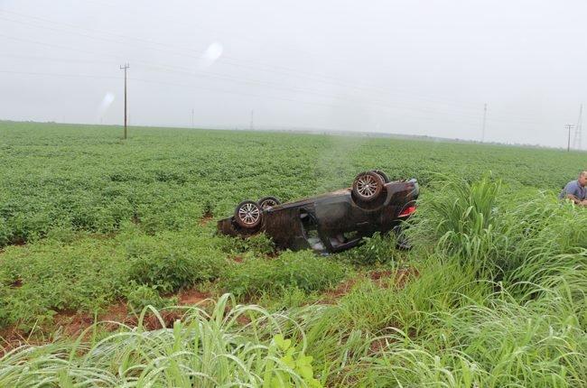 Acidente ocorreu na região conhecida como curva fazenda Tonito/Foto: Correio News