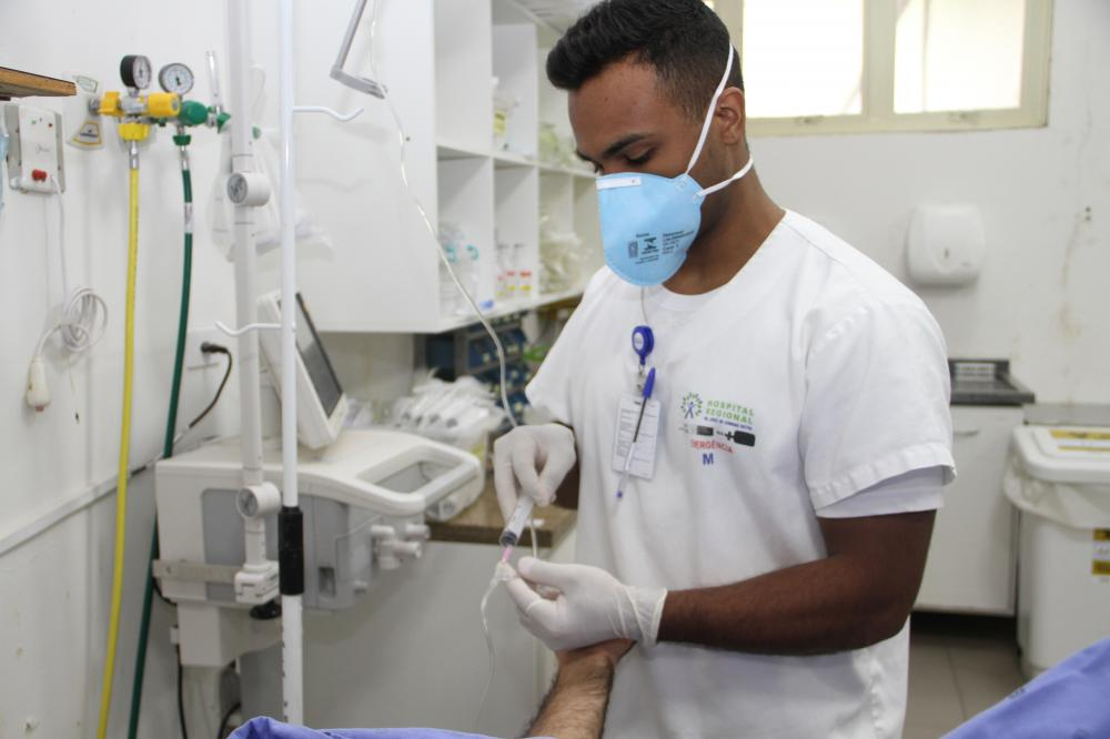 Hospital Regional de Ponta Porã (MS) capacita profissionais para atendimento a casos suspeitos de coronavírus