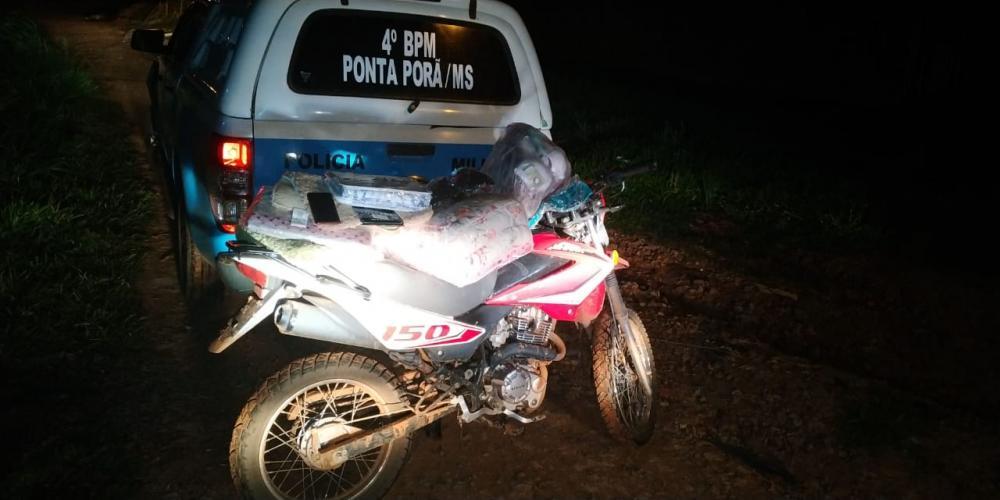 PM de Ponta Porã recupera motocicleta produto de roubo