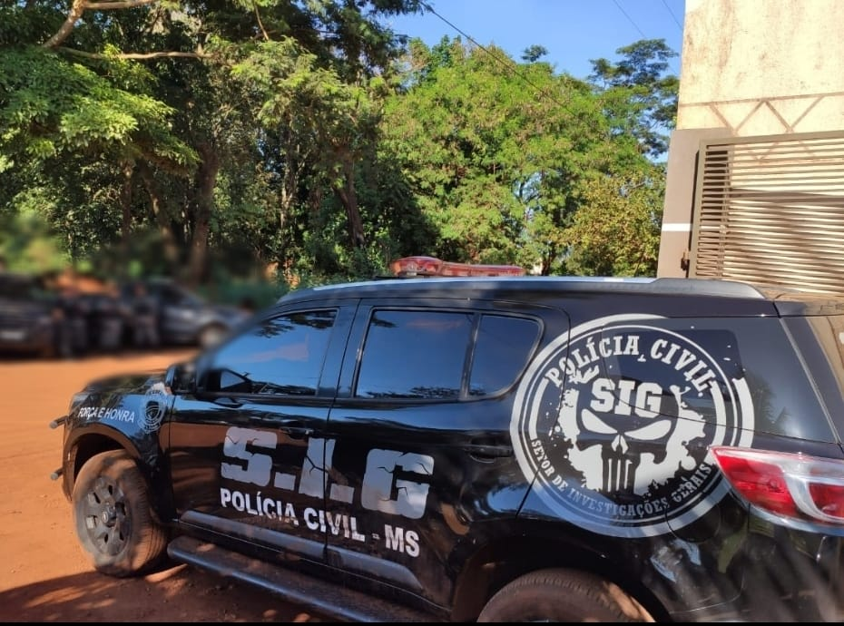 Polícia Civil, por meio do SIG, deflagra a operação Coruja de Minerva II, visando colher elementos probatórios sobre homicídios ocorridos neste ano em Dourados.
