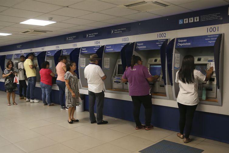 Agência da Caixa Econômica Federal - José Cruz/Agência Brasil