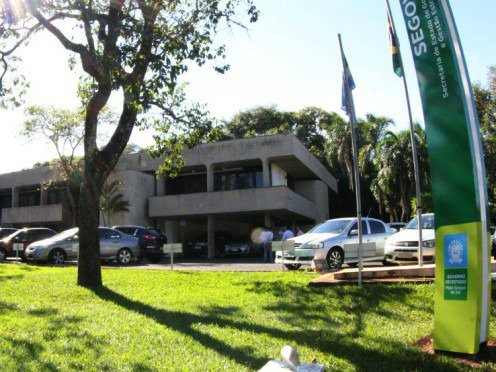 Governadoria, no Parque dos Podres. (Divulgação, Governo)